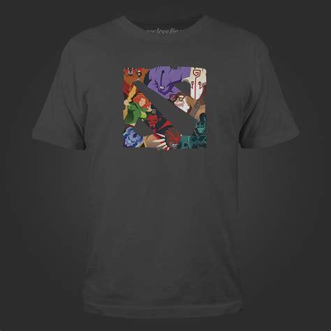 T Shirt Team Screet Dota Harmony Merch valve store dota 2 logo mashup