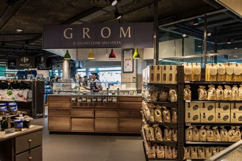 Blender Di Carrefour grom gelaterie shop in shop nei carrefour market a roma e