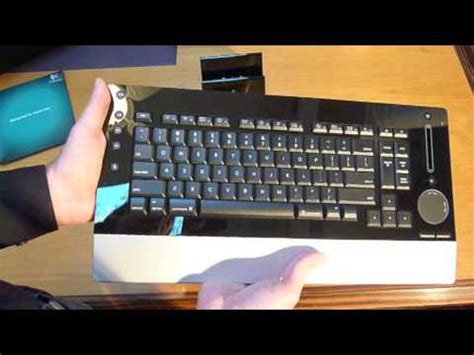 Shiny Review Logitech Dinovo Edge by Logitech Dinovo Edge Keyboard Mac Unboxing Review