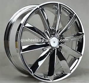 Chrome Alloy Truck Wheels 5x114 3 Chrome Car Rims Alloy Wheel 17 Inch Wheel