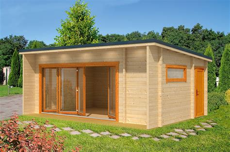 Modern Houses Floor Plans lasita maya holz gartenhaus blockbohlenhaus java