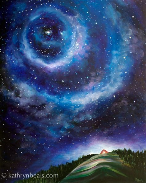acrylic painting sky starry sky painting step by step how i paint