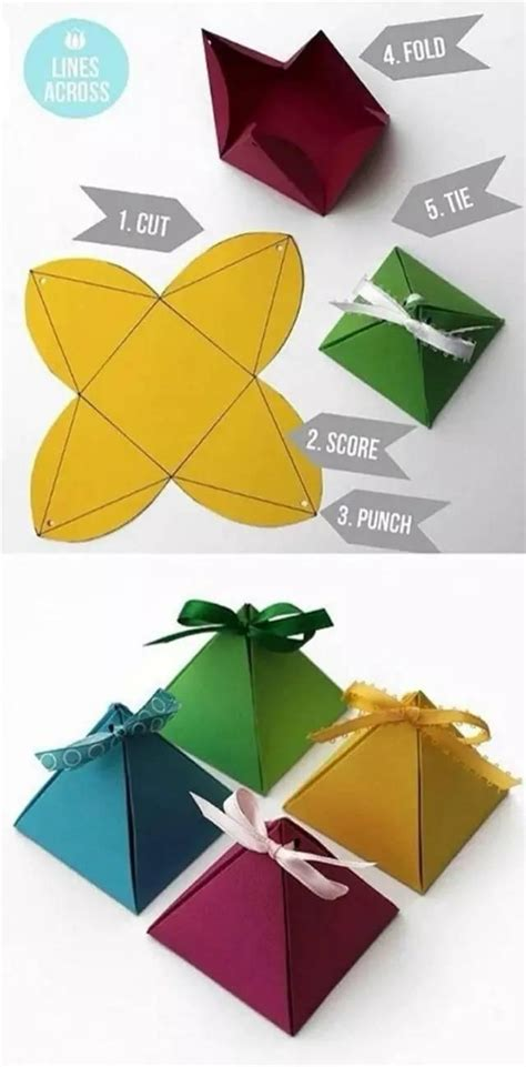 Cool Origami Gifts - cool paper gift boxes that will your mind