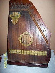 vintage musical instrument autoharp zither ebay