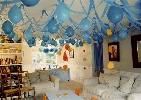 simple net for party decoration simple but smart decoration ideas midcityeast