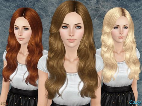 sims 3 custom content females hair bow tsr cazy