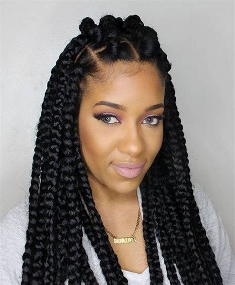 cost of box braid on long thick hair best 25 thick box braids ideas on pinterest protective