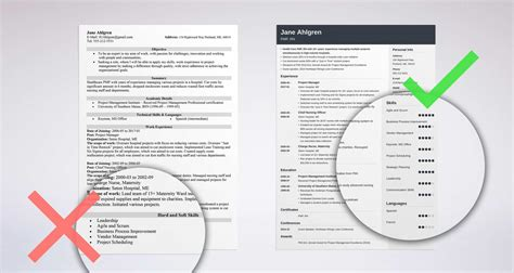 resume skills example mudeo tk