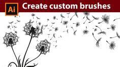 custom pattern brush illustrator 1000 images about brushes photoshop on pinterest