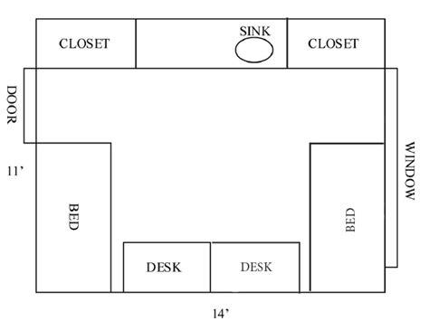 billings plan room amenities floor plan and room furnishings msu billings