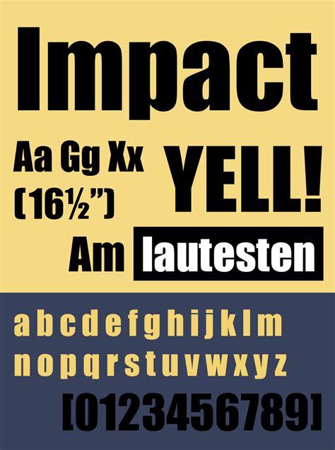 impact a safeguard novel books impact typeface