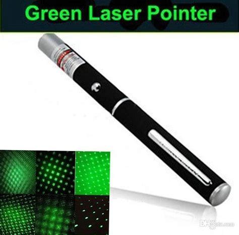 G B18 Set 2in1 White 2in1 cap pattern 532nm 5mw green laser pointer pen