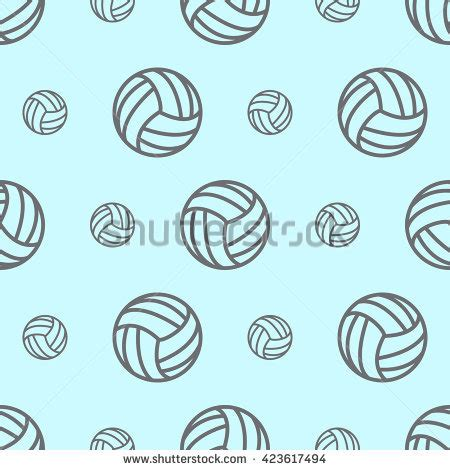 printable volleyball pattern stock images royalty free images vectors shutterstock