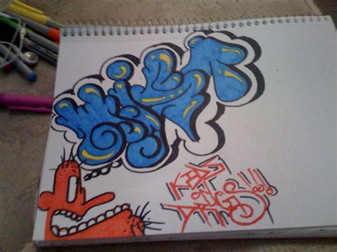 graff the art and black book graff sketch by mistoner on