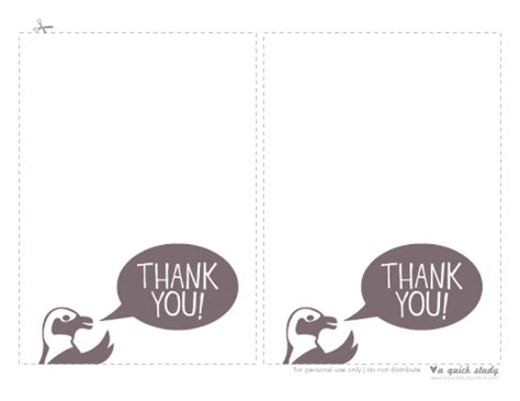 thank you card template print out printable thank you cards slim image
