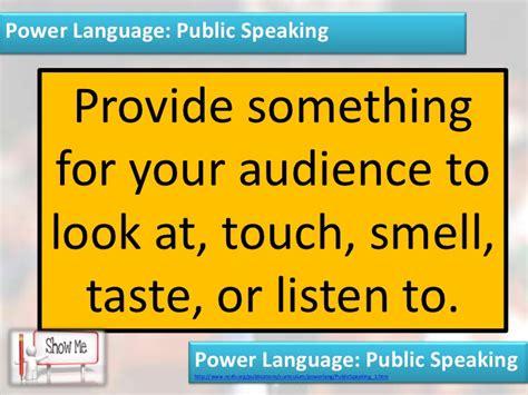 organizational pattern public speaking social skills public speaking 1 8 components of a great