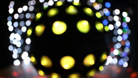 christmas lights fade blurred colorful lights on black background with varying fade and twinkle patterns