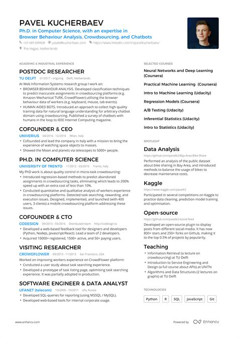cook resume examples sample 1 page resume one page resume samples