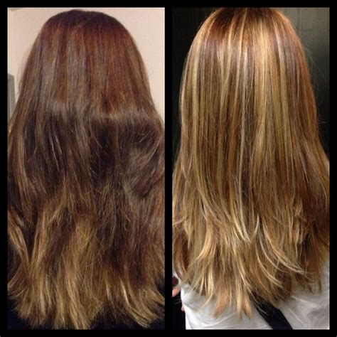 balayage highlights for grey hair before and after before after balayage highlights blonde my work