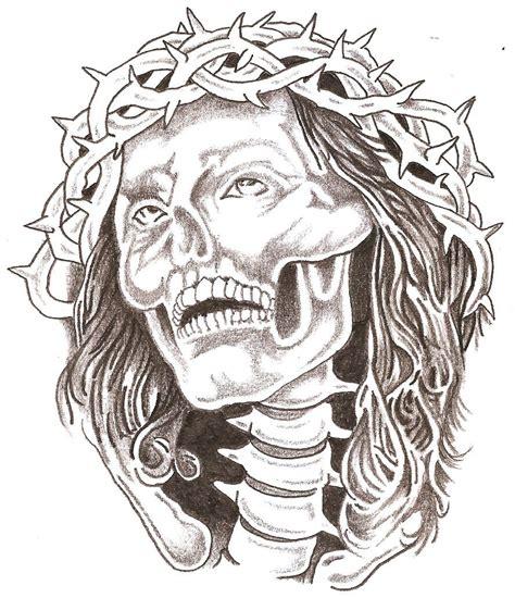 skull jesus by thelob on deviantart