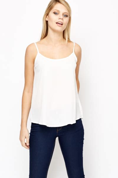 cami best white cami top just 163 5