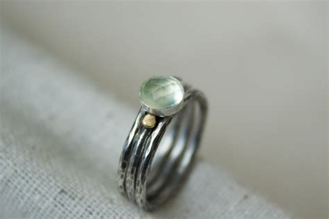 pastel stacking silver rings prehnite 28 images ombre