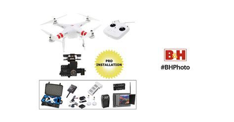 Dji Phantom 2 H4 3d dji phantom 2 bundle with h4 3d gimbal fpv monitor iosd and