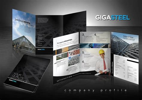 company profile unique design gigasteel company profile nikko purnama
