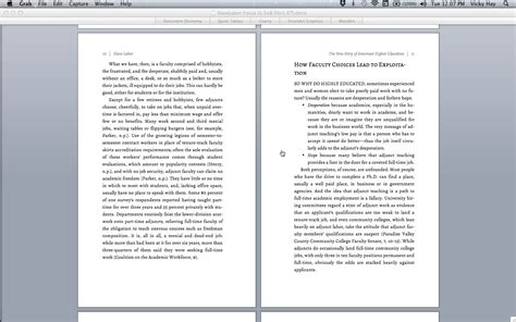 book layout headers rumination of the day publishing software review funny