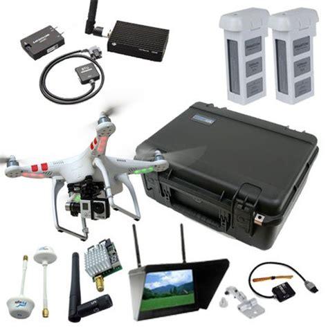 Drone Gopro 4 dji phantom 2 v2 0 deluxe mapping bundle by drones made easy gopro hero4 black 1 2w vtx rc