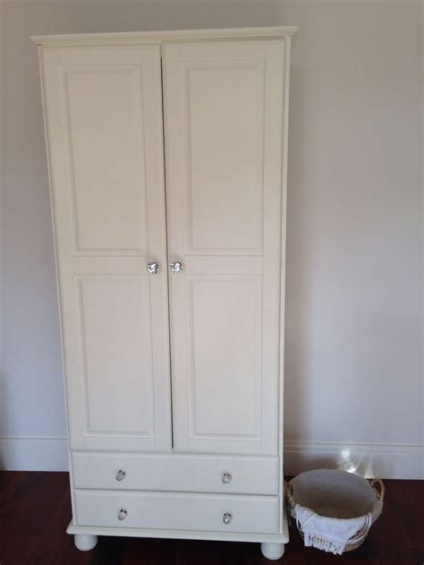autentico chalk paint white wardrobe painted with autentico ivory chalk paint