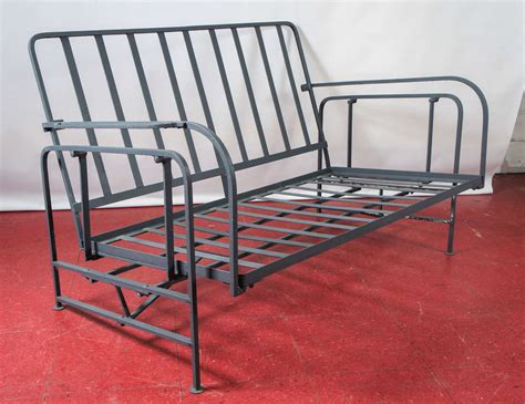 outdoor or porch metal glider at 1stdibs