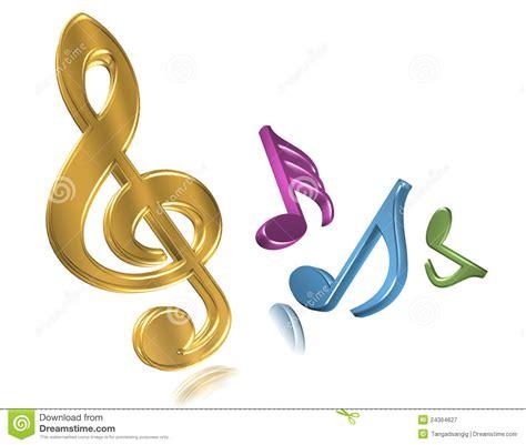 imagenes notas musicales de colores notas musicales de colores 3d www pixshark com images
