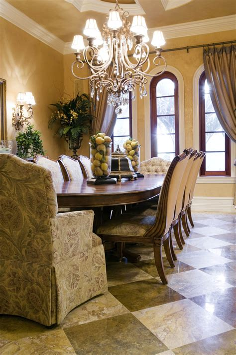 Dining Room Table Topper Ideas Pull Back Drapery Panels Arched Windows Interior