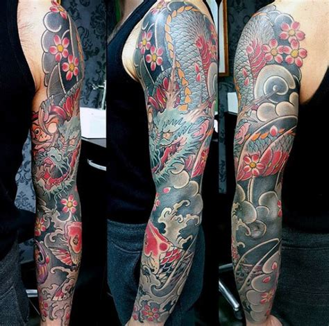 japanese tattoos for men on arm 120 japanese sleeve tattoos for masculine design ideas