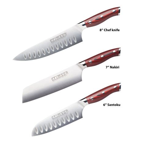 list of kitchen knives ergo chef s store