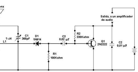 capacitor no receptor lificadores de audio receptor sencillo de am
