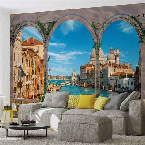 italian wall mural wall mural photo wallpaper arches venice italy 1072ws ebay
