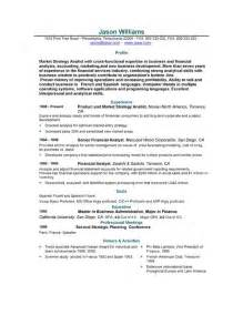 Resume Format Template Free by Sle Resume 85 Free Sle Resumes By Easyjob Sle