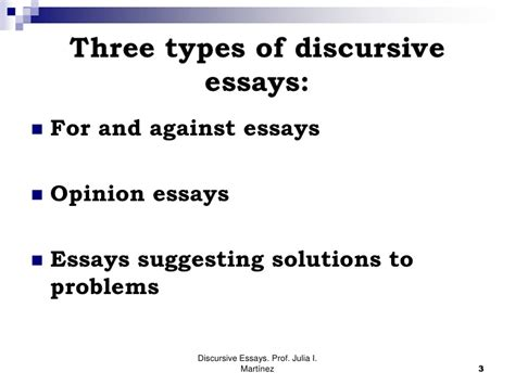 Writing A Discursive Essay by Discursive Essays