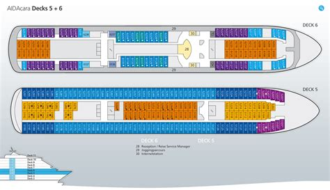 aidabella kabinenplan deck 4 aidacara deckplan position und infos zu aida cara