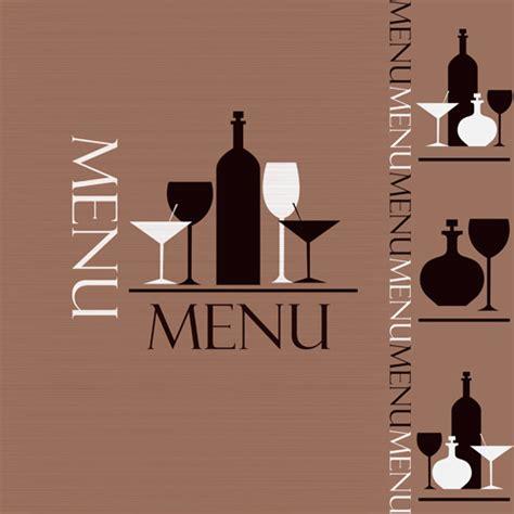 design cover menu creative restaurant menu cover design vector free vector
