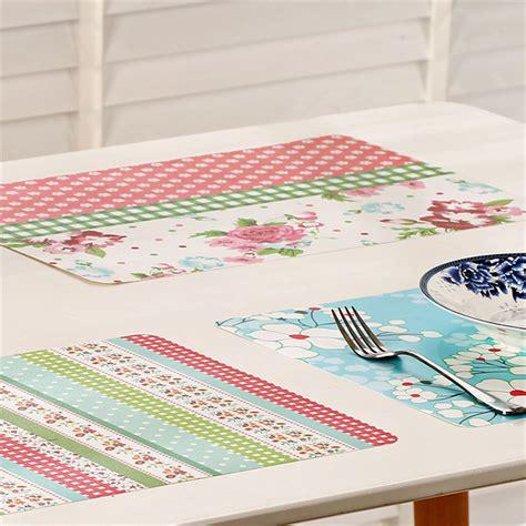 Aliexpress Buy 4pcs Set Placemat by Aliexpress Buy 4pcs Lot Plastic Table Placemats