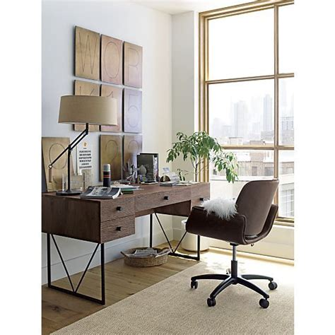 crate and barrel desk chair hughes office chair crate and barrel home offices