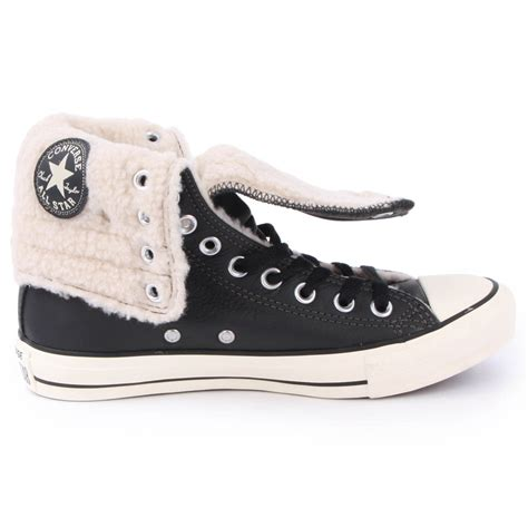 converse chuck knee high sneaker converse chuck knee hi 540399c womens leather laced