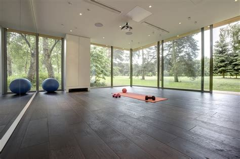 pilates room studio bespoke pilates studio contemporary home oxfordshire by 3rdspace