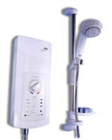 Advanced Shower Systems by Mira Advance Atl Thermostatic Electric Shower 9 8 Kw White