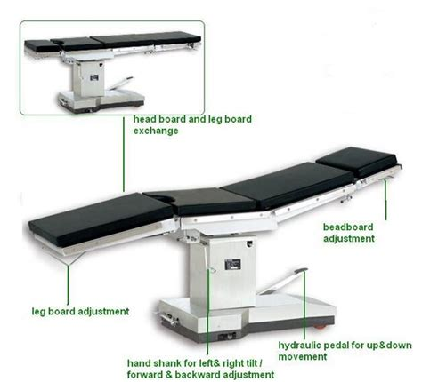 operating room back table manual operating room tables adjustable surgical operation chair als ot005m