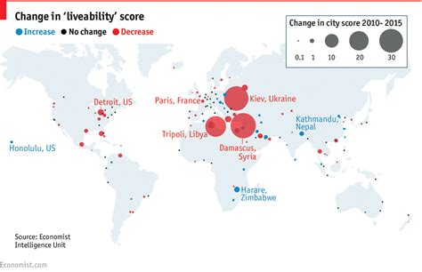 Top Mba Schools In The World Economist by Daily Chart The World S Most Liveable Cities The