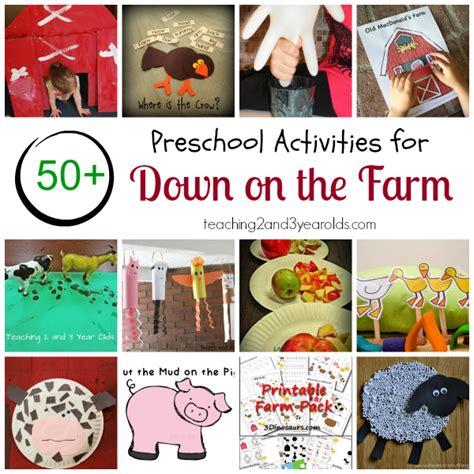 Farm Theme Home Preschool Lesson Preschool Farm Theme